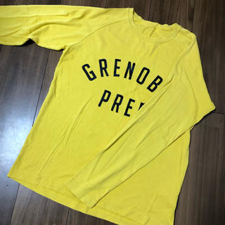 ジーユー(GU)のGU tシャツ(Tシャツ/カットソー(七分/長袖))