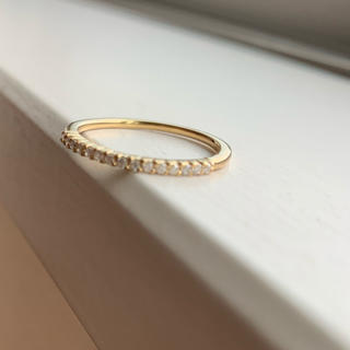 ヨンドシー(4℃)の4℃ ダイヤモンド k18 リング(リング(指輪))