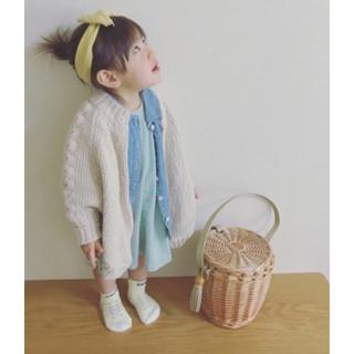 MUJI (無印良品) - 無印♡90サイズ♡ニットポンチョ♡ベビー♡キッズ