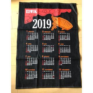 エドウィン(EDWIN)のEDWIN デニム生地 2019年カレンダー(カレンダー/スケジュール)
