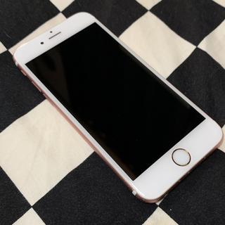 アップル(Apple)の【SIMフリー】iPhone6S ローズゴールド (スマートフォン本体)