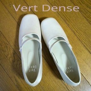 ヴェールダンス(Vert Dense)のVert Dense ヴェールダンス スクエアトゥ ローヒールパンプス 日本製(ハイヒール/パンプス)