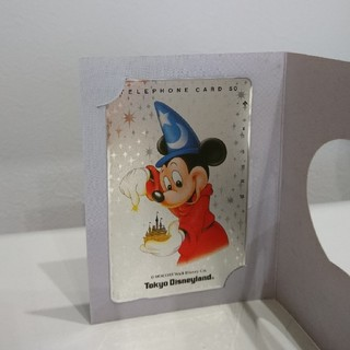 Disney - テレフォンカード ディズニーランド 未使用