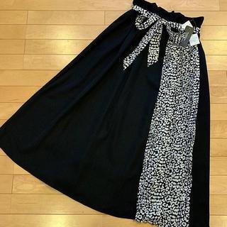 シマムラ(しまむら)のラスト1着‼️‼️レオパード柄切り替えロングスカート(ロングスカート)