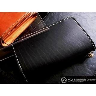 ケイシイズ(KC,s)のKC.sケイシイズ【Black】エレノアロングビルフォード(折り財布)