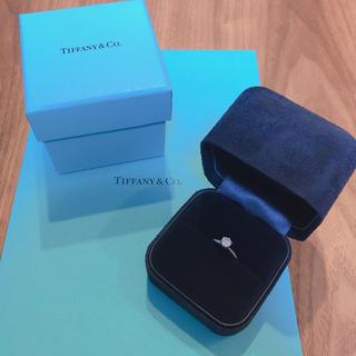 ティファニー(Tiffany & Co.)のティファニーの正規品*0.43カラット婚約指輪(リング(指輪))