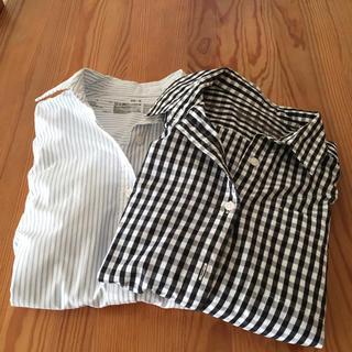 ムジルシリョウヒン(MUJI (無印良品))の無印良品 シャツ2枚セット(シャツ/ブラウス(長袖/七分))