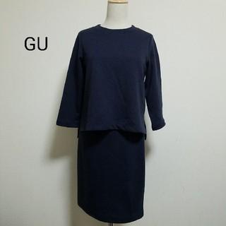 ジーユー(GU)のGU ワンピース(ひざ丈ワンピース)