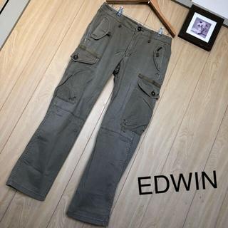 エドウィン(EDWIN)の【美品】EDWIN カーゴパンツ M(ワークパンツ/カーゴパンツ)