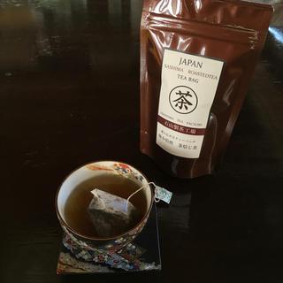 極み焙煎 茎焙じ茶ティーバッグ(茶)