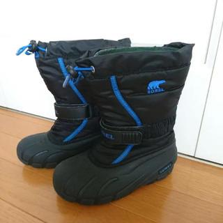 ソレル(SOREL)の美品 SOREL ソレル スノーブーツ 20cm(ブーツ)