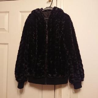 ジーユー(GU)のファーコート ジャケット(毛皮/ファーコート)