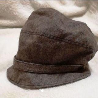 アフタヌーンティー(AfternoonTea)のアフタヌーンティーキャスケットツイード帽子(キャスケット)