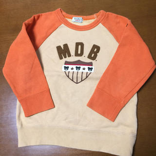 ダブルビー(DOUBLE.B)のダブルビー トレーナー100(Tシャツ/カットソー)