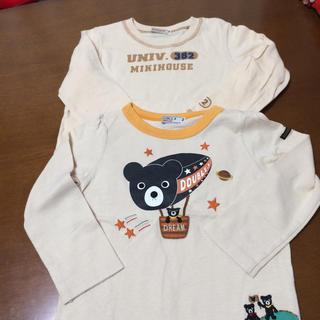 ダブルビー(DOUBLE.B)のミキハウス ダブルB ロンT2枚セット(Tシャツ/カットソー)