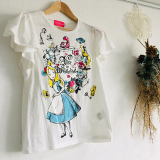 ディズニー(Disney)のディズニー購入 不思議の国のアリス Tシャツ(Tシャツ(半袖/袖なし))