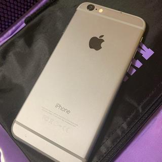 アイフォーン(iPhone)のiPhone6 SPACE GRAY 16GB docomo ドコモ  (スマートフォン本体)