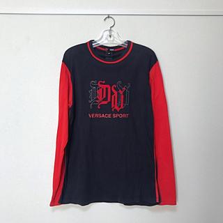 ヴェルサーチ(VERSACE)のヴェルサーチ トップスM(Tシャツ/カットソー(七分/長袖))