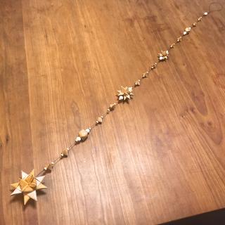 白樺の3つ星オーナメント ミディアム(モビール)