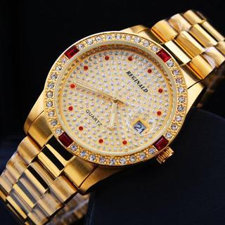 ロレックス(ROLEX)の ダイヤ 腕時計 ユニセックス ウォッチ カレンダー贅沢 宝飾 (腕時計(アナログ))