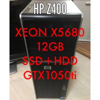ヒューレットパッカード(HP)の【HP】Z400 ゲーミング(デスクトップ型PC)