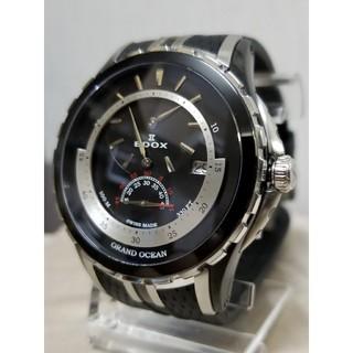 エドックス(EDOX)の【とち様専用12/18(火)】エドックス グランド オーシャン レギュレーター (腕時計(アナログ))