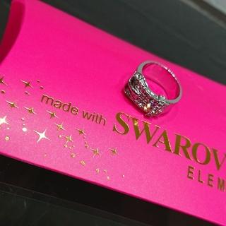 スワロフスキー(SWAROVSKI)のスワロフスキー リング ベルト(リング(指輪))