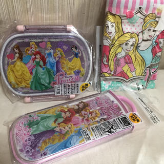 Disney - プリンセス☆ランチ3点セット♪