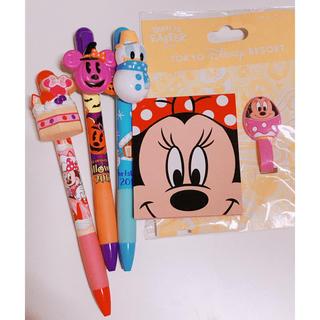 ディズニー(Disney)のディズニー ボールペンなど いろいろ5点セット (ペン/マーカー)