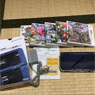 ニンテンドー3DS(ニンテンドー3DS)のnew NINTENDO 3DSLL本体+α(携帯用ゲーム本体)