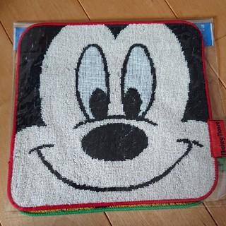 Disney - 新品 ハンドタオル 2枚組 ミッキー/プルート