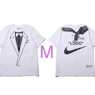 ナイキ(NIKE)の新品 ナイキ×オフホワイト tee(Tシャツ/カットソー(半袖/袖なし))