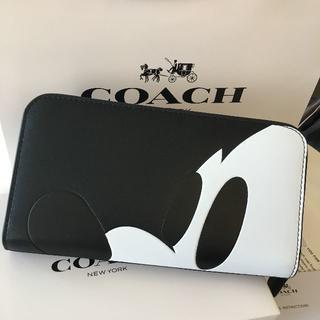 コーチ(COACH)の新品★COACH コーチ 長財布 ミッキー 54000(財布)