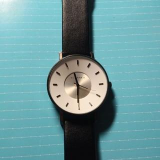 未使用腕時計  ホワイト(腕時計(アナログ))