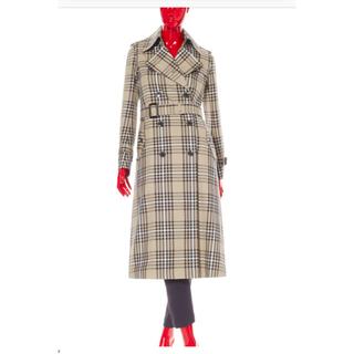 ダブルスタンダードクロージング(DOUBLE STANDARD CLOTHING)の専用 ダブスタ 先染めチェックトレンチコート(トレンチコート)