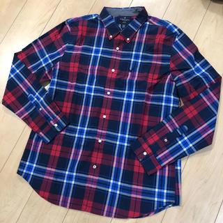 アメリカンイーグル(American Eagle)の新品 アメリカン  イーグル 長袖シャツ チェックシャツ(シャツ)