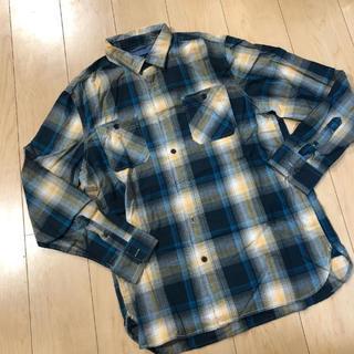 アメリカンイーグル(American Eagle)の新品同様 アメリカン イーグル チェックシャツ L(シャツ)