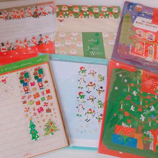 クリスマスレターセット 新品 クリスマス 手紙 レター