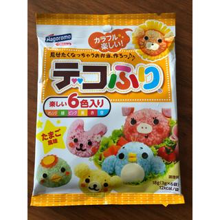デコふり 6色 たまご風味 1袋 オレンジ 緑 ピンク黄色 赤 水色 キャラ弁(その他)