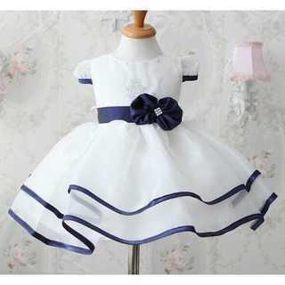 キッズドレス◆プリンセス風◆ホワイト◆結婚式 発表会(ドレス/フォーマル)