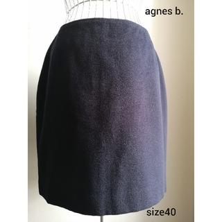 アニエスベー(agnes b.)のagnes b. お上品ウールスカート(ミニスカート)