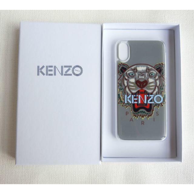 KENZO - [新品☆正規品]KENZO iPhone X ケース シリコン グレーの通販 by シェアリー♡'s shop|ケンゾーならラクマ