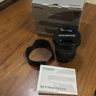 オリンパス(OLYMPUS)のオリンパス  ED 9-18mm f4.0-5.6 美品(レンズ(ズーム))