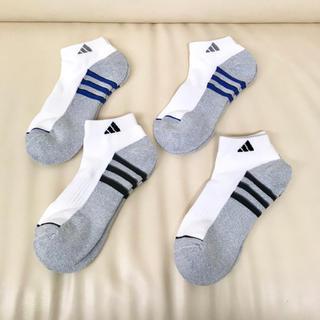 アディダス(adidas)の【送料無料】アディダス メンズ 男性 ソックス 4足 ❶(ソックス)