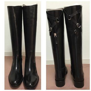 サルトル(SARTORE)のeri0418さま専用 新品未使用 サルトル ブーツ ブラック 39(ブーツ)