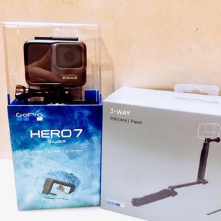 ゴープロ(GoPro)のGoPro HERO7 + 3wayカメラグリップ(その他)