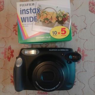 フジフイルム(富士フイルム)の◎ たま様 専用 ◎ インスタントカメラ instax 210 フィルム付き(フィルムカメラ)