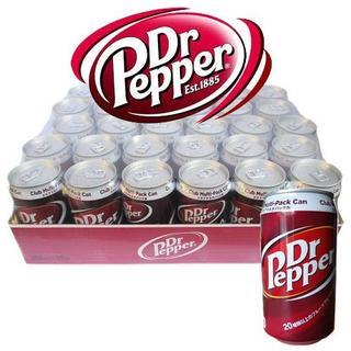 コカコーラ(コカ・コーラ)のDr Pepper ドクターペッパー350ml×30缶(ソフトドリンク)