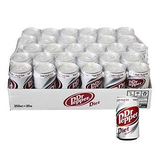 コカコーラ(コカ・コーラ)のDiet Dr Pepper ダイエットドクターペッパー350ml×30缶(ソフトドリンク)
