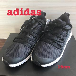 アディダス(adidas)のadidas adiFIT スニーカー黒 19cm(スニーカー)